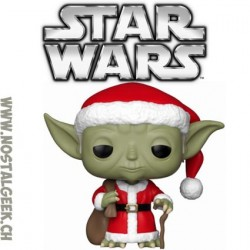 Funko Pop! Star Wars Holidays Santa Yoda Vinyl Figure