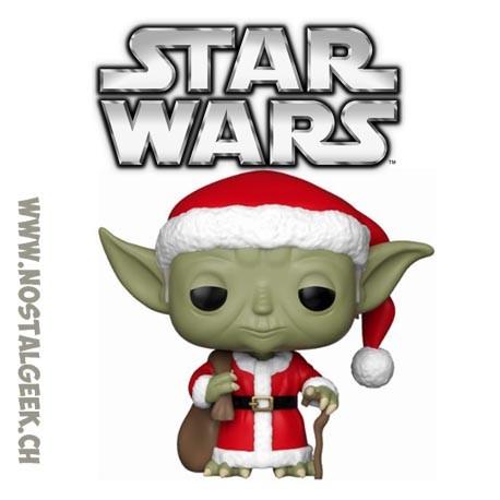 Funko Pop! Star Wars Holidays Santa Yoda Vinyl Figure