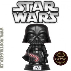 Funko Pop Star Wars Holiday Darth Vader (Candy Cane) Chase Phosphorescent Edition Limitée
