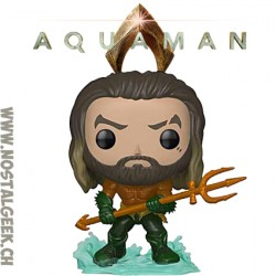 Funko Pop DC Heroes Aquaman (2018 Movie) Vinyl Figure