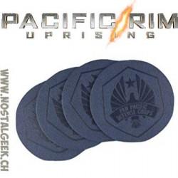 Pacific Rim Set de 4 dessous de verre
