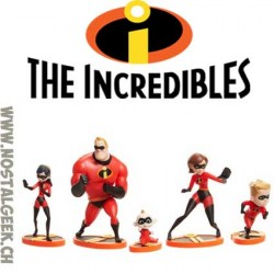 Disney / Pixar The Incredibles 2 - Coffret 5 Figurines 9 cm