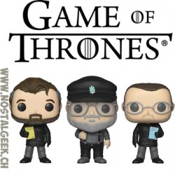 Funko Pop Game Of Thrones NYCC 2018 The Creators 3-pack Exclusive Vinyl Figure