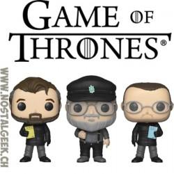 Funko Pop Game Of Thrones NYCC 2018 The Creators 3-pack Exclusive Vinyl Figure