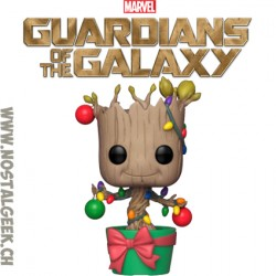 Funko Pop Marvel Guardians of The Galaxy Vol. 2 Groot with Bomb Edition Limitée