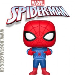 Funko Pop! Marvel Holidays Spider-Man (Ugly Sweater) Vinyl Figure