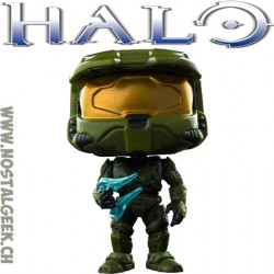 Funko Pop Pop Games Halo Master Chief with Energy Sword Edition Limitée