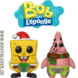 Bundle Funko Pop Spongebob Squarepants + Patrick Star (Holiday) Vinyl Figures