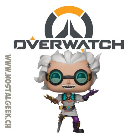 Funko Pop! Jeux Vidéos Games Overwatch Junkrat (Dr. Junkenstein) Edition Limitée