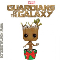 Funko Pop Holidays Guardians of The Galaxy Groot (with Lights) Vinyl Figure