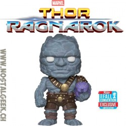 Funko Pop! Marvel NYCC 2018 Thor Ragnarok Korg with Miek Exclusive Vinyl Figure