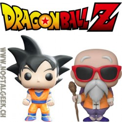 Bundle Funko Pop Dragon Ball Z Goku + Master Roshi Vinyl Figures