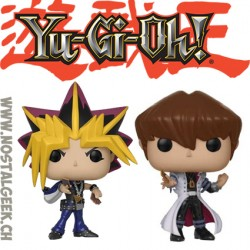 Bundle Funko Pop Animation Yu-Gi-Oh! Yami Yugi + Seto Kaiba Vinyl Figures