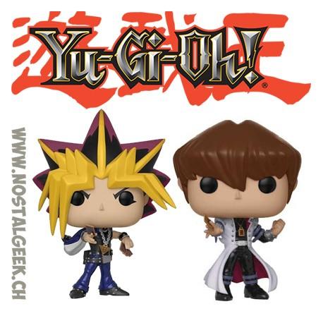 Bundle Funko Pop Animation Yu-Gi-Oh! Yami Yugi + Seto Kaiba Vinyl Figures