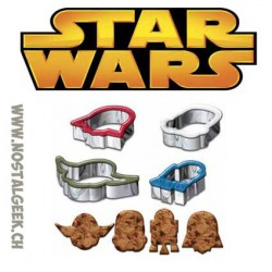 Star Wars Moules à Biscuit 4 pieces