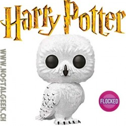 Funko Pop Harry Potter Hedwig Flocked Edition Limitée