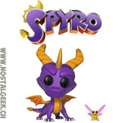 Funko Pop Game Spyro and Sparx Vinyl Figure