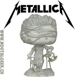 Funko Pop Rocks Metallica Lady Justice Vinyl Figure