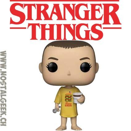 Burger T-shirt Funko Pop Vinyl Stranger Things onze NEUF