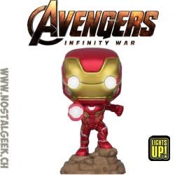 Funko Pop Marvel Avengers Infinity War Iron Man (Light Up) Edition Limitée