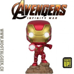 Funko Pop Marvel Avengers Infinity War Iron Man (Light Up) Exclusive Vinyl Figure
