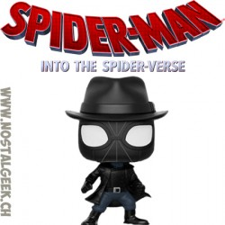 Funko Pop! Marvel Spider-Man Into the Spiderverse Spider-Man Noir (with Hat) Vinyl Figure