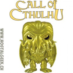 Funko Pop Book Cthulhu (Gold Metallic) Edition Limitée