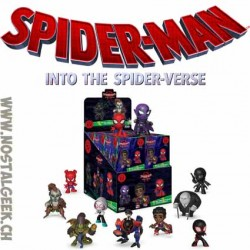 Funko Mystery Minis Spider-man Into The Spider-Verse