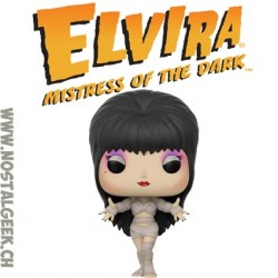Funko Pop Television Elvira The Mistress of Darkness (Mummy) Edition Limitée