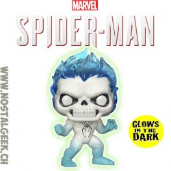 Funko Pop Marvel Spider-Man Spirit Spider GITD Exclusive Vinyl Figure