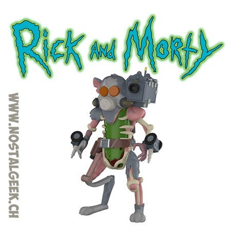 Funko Rick And Morty Pickle Rick Figurine Articulée