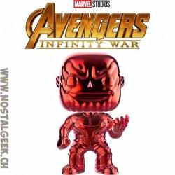 Funko Pop Marvel Avengers Infinity War Thanos (Red Chrome) Exclusive Vinyl Figure