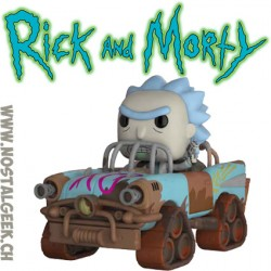 Funko Pop! Ride Animation Rick and Morty Mad Max Rick Vinyl Figure
