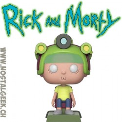 Funko Pop! Animation Rick et Morty - Morty (Blips and Chitz) Exclusive Vinyl Figure