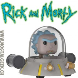 Funko Pop! Ride Animation Rick and Morty Rick's Ship Edition Limitée