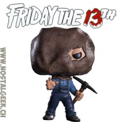 Funko Pop Horror Friday the 13th Jason Voorhees (Bag Mask) Exclusive Vinyl Figure