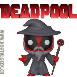 Funko Pop Marvel Wizard Deadpool Edition Limitée
