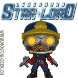 Funko Pop Marvel Guardians of The Galaxy Star-Lord (Classic) Exclusive Vinyl Figure