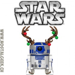 Funko Pop Star Wars Holiday R2-D2 (Reindeer) Vinyl Figure