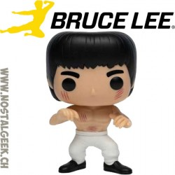 Funko Pop Movies Enter the Dragon White Pants Bruce Lee Edition Limitée