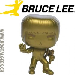 Funko Pop MoviesBruce Lee (Game of Death) (Gold) Edition Limitée