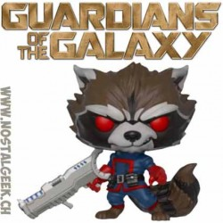 Funko Pop Marvel Guardians of The Galaxy Rocket Raccoon (Classic) Exclusive Vinyl Figure
