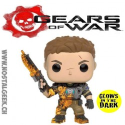 Funko Pop Games Gears Of War JD Fenix GITD Limited Vinyl Figure