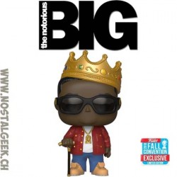 Funko Pop Rocks Notorious B.I.G. with Crown