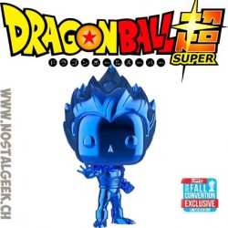 Funko Pop Animation NYCC 2018 Dragon Ball Super Saiyan Vegeta (Blue Chrome) Edition Limitée