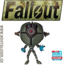 Funko Pop Games NYCC 2018 Fallout Assaultron Phosphorescent Edition Limitée