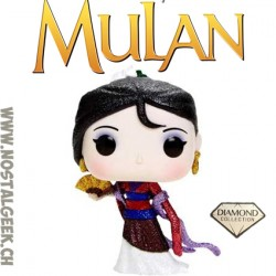 Funko Pop! Disney Mulan (Diamond Collection) Glitter Exclusive Vinyl Figure