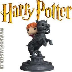 Funko Pop Movie Moment Harry Potter Ron Weasley Riding Chess Piece Vinyl Figure