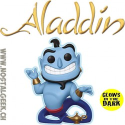 Funko Pop Disney Aladdin Genie with Lamp (Glow in the Dark) GITD Exclusive Vinyl Figure