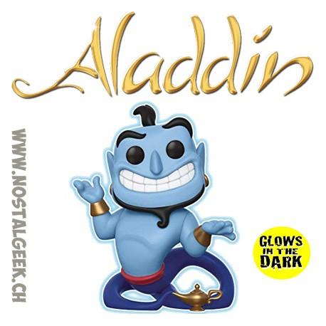 Funko Pop Disney Aladdin Genie with Lamp (Glow in the Dark) GITD Exclusive Vinyl Figure